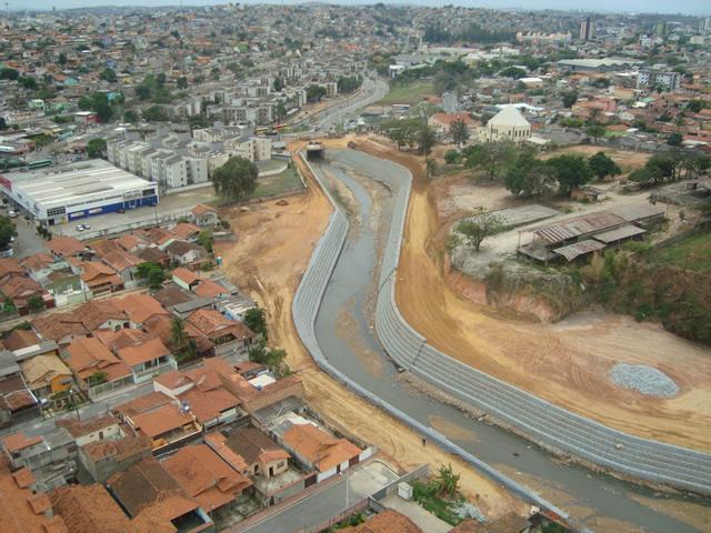 Vale - Execução de Escada Dissipadora em Gabião na Mina de Timbopeda em Mariana/MG.